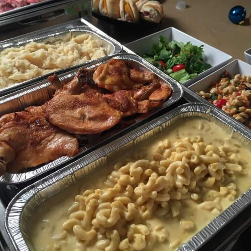 group meals catering package
