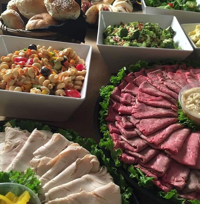 event catering group meals served family style