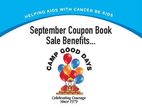 coupon book sale for camp good days