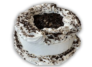 small speciality cookies and cream cake